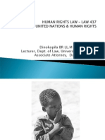 LAW 437 The UN %26 Human Rights