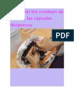 Reutilizar los residuos de café de las cápsulas Nespresso.docx