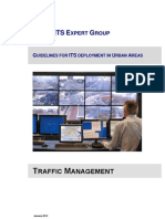 2013 Urban Its Expert Group Guidelines on Traffic Management