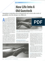 Breathing New Life Into a Shattered gunstock