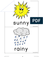 Weather Flashcards