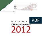 Sprawozdanie Za 2012 - RAPORT FINAL
