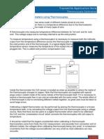 Application Note - ThermoApplication Notecouple Calibration