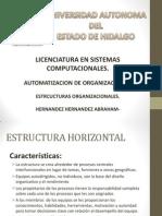 ESTRUCTURAS ORGANIZACIONALES.pptx