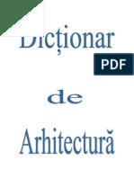Dictionar-arhitectura