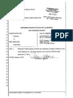 Restraining Order Documents