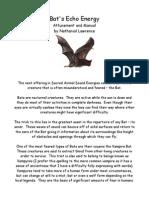 Bats Echo Energy attunement