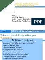 Sosialisasi Kurikulum 2013 - Sulawesi Selatan - 8-9 Februari 2013