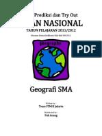 Soal Prediksi UN Geografi