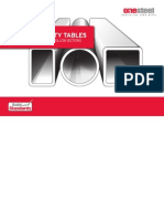 Dct Cf SmallDESIGN CAPACITY TABLES FOR STRUCTURAL STEEL HOLLOW SECTIONS