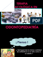 FARMACOLOGIA ODONTOPEDIATRICA
