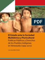 El Estado Ante La Sociedad Multietnica y Pluricultural