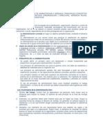 1er Tema Del Trabajo Organizado de Teorias y Principios de Adminitracion y Gerencia