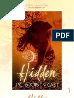 Oculta La casa de la Noche 10 PC Y Kristin Cast