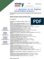 Registros Navarra