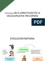 Evolucion a Largo Plazo de La Valvuloplastia Tricuspidea