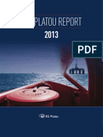 The Platou Report 2013