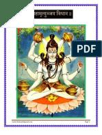 Mahamrutyunjaya Vidhana - महामृत्युञ्जय विधान