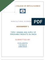 agri economics