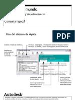 Diseño conceptual y visualización con  AutoCAD 2009 Consulta rápida