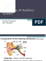 Physiology of Hearing Otolaryngology