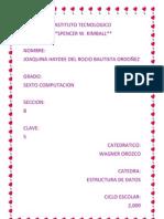 Joaquina Estructura