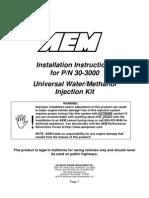 Installation Instructions 30-3000