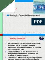 Chap004 Strategic Capacity Management