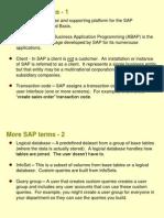 SAP Query Tool Exercise