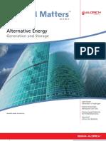 Alternative Energy - Material Matters v3n4