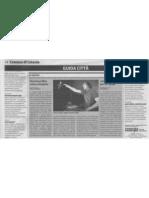 """Dal """"Giornale di Sicilia"""" del  20.02.09"""