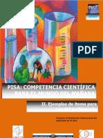 Pruebas Liberadas Pisa 2009 - Ciencias 2