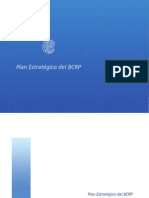 Plan Estratégico del BCRP