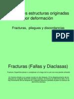 Fracturas (Fallas y Diaclasas) Primera Parte