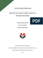 Proposal Biopestisida