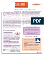 WEALTH - WIN Women's Health Policy Network Newsletter February 2013