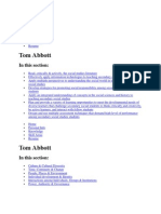 Example Portfolios