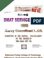 karvyprojectreport-100722032417-phpapp02-111130072109-phpapp02