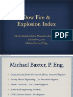 Dow Fire & Explosion Index Presentation