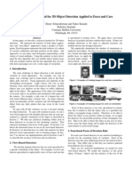 A Statistical Method for 3D Object Detection Applied to Faces and Cars