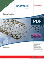 Biomaterials - Material Matters v3n3