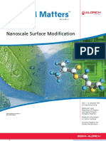 Nanoscale Surface Modifications - Material Matters v3n2