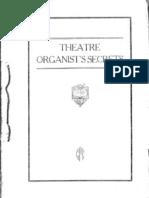 Theatre Organ Secrets