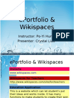 ePortfolio & Wiki Spaces