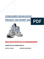 Consumer Behavior Project on Sport Shoes