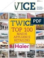 top 100 major appliance retailers 2011