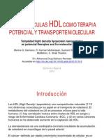 NANOPARTÍCULAS HDL gf13