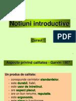 Curs 1 - Notiuni introductive