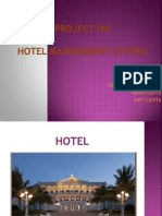 Hotel Management Project in C++