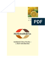 FuE Amidated Citrus Pectins